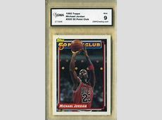 value of michael jordan rookie card fleer