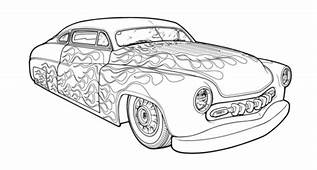 Hot Rod Low Style Coloring Cars 1 Pictures  Free