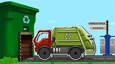 Garbage Garage Up by Playtime Garbage Truck Vehicles Car