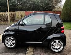 black smart car fortwo brabus wheels brabus exhaust