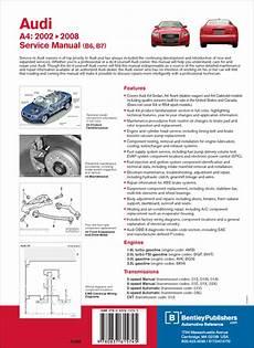 free car repair manuals 2002 audi s4 electronic valve timing back cover audi audi repair manual a4 2002 2008 bentley publishers repair manuals and