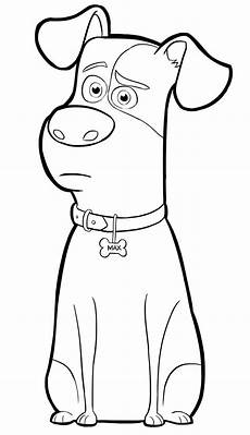 printable colors coloring pictures 12733 max from the secret of pets coloring page puppy coloring pages coloring pages