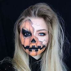 creepy pumpkin makeup tutorial