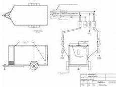 46 best trailer wiring diagram images in 2019 trailer build electric utility trailer