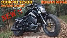 Yamaha Xabre Modif Ducati by Yamaha Scorpio 225cc Modif Jadi Ducati Bobber Oktober 2018