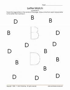 letter d and b worksheets 24192 letter match worksheet 1 letters d and b worksheet for pre k kindergarten lesson planet