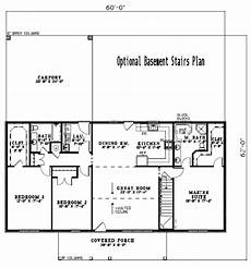 ranch style house plan 3 beds 2 baths 1800 sq ft plan