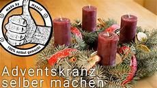 adventskranz selber machen selber binden weihnachtsdeko
