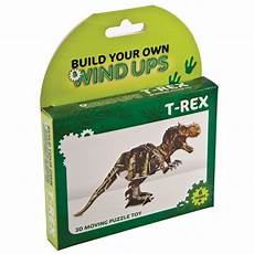 build your own wind up t rex diy dinosaur toy tyrannosaurus construction building yellow octopus