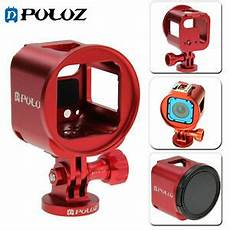 Metal Protective Shell Frame With by Puluz For Gopro Hero5 4 Session Metal Housing Shell