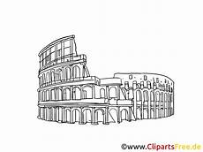 ausmalbilder rapunzel malvorlagen rom kolosseum italien rom bild zeichnung clipart gratis