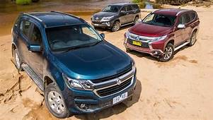 Holden Trailblazer Toyota Fortuner And Mitsubishi Pajero