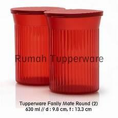 Family Mate Tupperware jual tupperware family mate 2pcs kecil