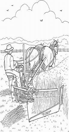 Ausmalbilder Bauernhof Mit Pferden Mann Mit Pferden Ausmalbild Malvorlage Bauernhof