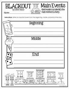 worksheets for 4th grade 20279 blackout by reading response activity worksheets for 3rd 4th grade