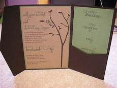 diy pocketfold invitations weddingbee photo gallery