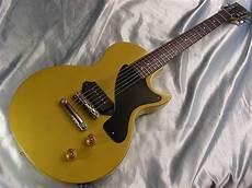 tv yellow les paul jr 1990 gibson usa les paul jr tv reissue yellow junior ri w hardshell p 90 ebay