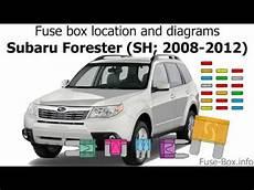 2012 subaru forester fuse box fuse box location and diagrams subaru forester sh 2008 2012