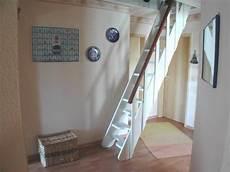 Treppe Zum Spitzboden Dachboden Treppe