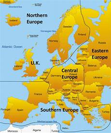 Northern European map of northern europe countries and iceland free