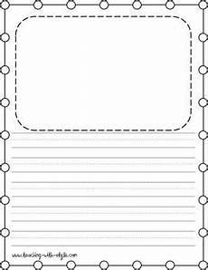 free coloring pages lined paper 17689 writing paper freebie with images kindergarten writing paper writing paper grade writing
