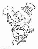 Pin By Christy Jamie On St Patricks Day  Coloring Pages