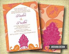 indian wedding invitation custom diy digital pink by archanadesign creative wedding
