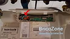 installation thermostat nest sur chaudi 232 re saunier duval