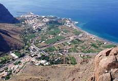 the town of valle gran in la gomera