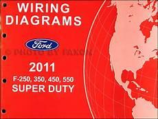 2011 ford f 250 wiring diagram 2011 ford f 250 thru 550 duty wiring diagram manual original