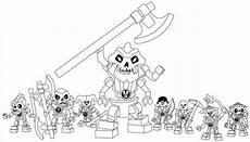 Malvorlagen Ninjago Skelett Lego Ninjago Skeleton Army Coloring Page