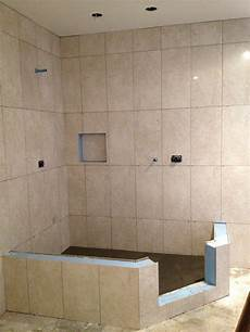 vertical shower tile in a lay in 2019 shower