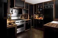 Black Kitchen - farmer interiors the black kitchen