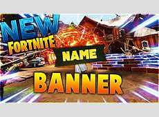~FREE GFX~ Fortnite Banner Template   YouTube