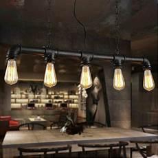 loft industrial style coffee shop retro chandelier l is