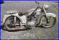 carte grise moto 125 125 motoconfort culbut 233 e u57c 1958 complete et carte grise