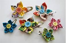 Blumen Aus Stoff Basteln - hanidoo kanzashi haarspange ganz einfach selbstgemacht