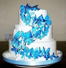 56 x turquoise aqua edible butterflies ideal wedding