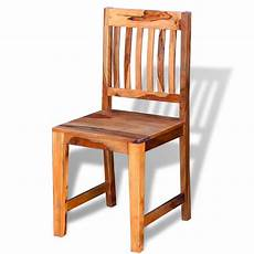 sedie da sala da pranzo vidaxl sedie sala da pranzo 6 pz in legno massello di
