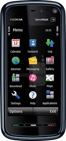 nokia 5800 xpressmusic nokia 5800 xpressmusic size real visualization and