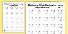 traditional 2 digit multiplication worksheets the best worksheets image collection download