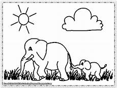 elephant coloring pages printable free printable