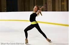 skating at alexandra palace with an olympic pro