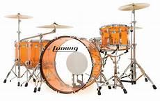 Ludwig Vistalite Zep Set L8264lx 5pc Drum Set Free Shipping