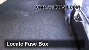 Interior Fuse Box Location 2011 2016 Chrysler 300  2012