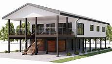 stilt house plans house design house plan ch462 8 coastal house plans