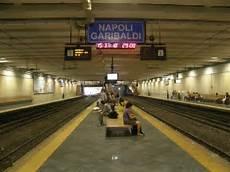 stazione porta garibaldi metro linea 4 servizio ferroviario metropolitano di napoli