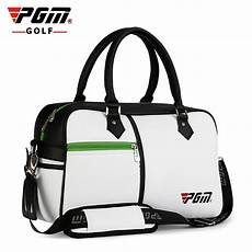 ywb017 pgm new product golf bag clothing articles daily pu ball capacity clothes package