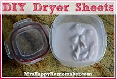 diy homemade dryer sheets mrs happy homemaker
