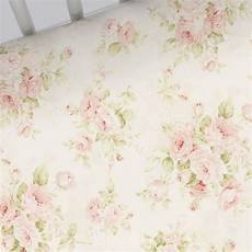 pink floral crib sheet carousel designs